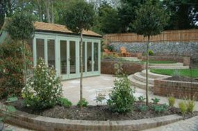 Garden Design With Summer House